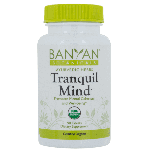 Bayan Botanicals Tranquil Mind™ tablets